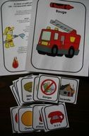 Les pompiers : Affiches et vocabulaire Autumn Activities, Activities For Kids, Community Helpers, Fire Safety, Transportation, Playing Cards, Education, Games, Petite Section