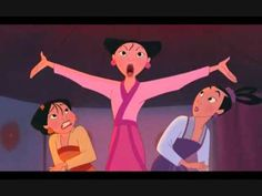 Mulan II - I Wanna Be Like Other Girls - YouTube
