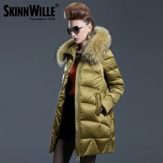 >> Click to Buy << Luxury female medium-long down coat WARM JACKET fashion winter thickening 2016 loose outerwear #Affiliate