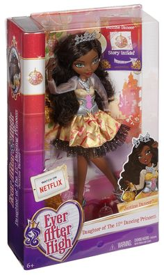 Amazon.com: Ever After High Justine Dancer Doll: Toys & Games