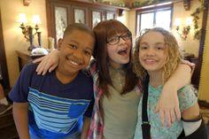 """Walk the Prank: Adventures in Babysitting""- The team enlists Disney Channel Original Movie's Adventures in Babysitting stars, Sofia Carson and Sabrina"