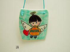 Mini Angel picture cute kids decoration by ArtStudioKatherine