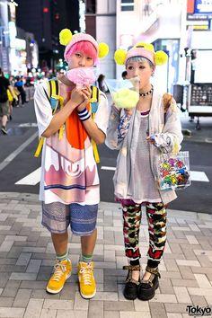 Harajuku love. Tokyo Fashion. #matching