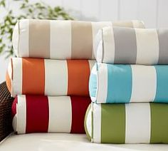 Outdoor Patio Pillows U0026 All Weather Pillows | Pottery Barn