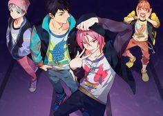5 Anime, Hot Anime Guys, Free Anime, Anime Shows, Anime Love, Neko, Rin Matsuoka, Swimming Anime, Free Eternal Summer