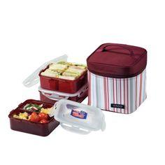 Lock & Lock Square Lunch Box 3-Piece Set with Insulated Stripe Bag, Purple LockandLock http://www.amazon.com/dp/B00466I4RU/ref=cm_sw_r_pi_dp_6Mstwb02CQY5M