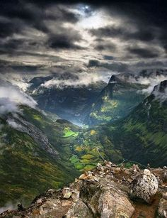 The breath-taking Scottish Highlands.