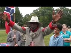 HK Edgerton at 8th Annual Confederate Heritage Youth Day Clover, S.C. - YouTube  #Confederate #soldiers #AfricanAmerican