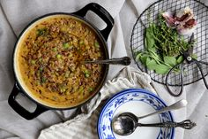 petite kitchen: CREAMY & COMFORTING VEGETABLE CASSEROLE PACKED WITH FRAGRANT HERBS & RED RICE