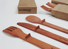 forks and knives will never touch the table again... no more germs in your mouth