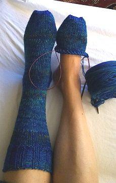 Karn Knits: Silja & Mads toe up socks - FREE KNITTING PATTERN