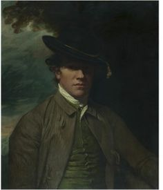 A young man of the Maynard family, George Romney, late 18th century, Oil on canvas. Bequeathed by Claude D. Rotch
