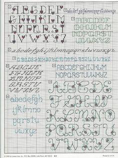 Image result for cross stitch alphabet graph