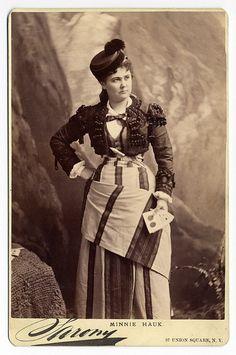 Portrait of Minnie Hauk 1880