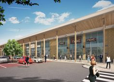 Valley Retail Park | Projects | Urban Edge Architecture