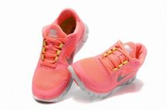 Nike Free Run 3 Womens Hot Punch Neon Pink Volt