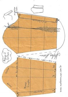 ideas for dress pattern diy vestidos Sewing Basics, Sewing Hacks, Sewing Tutorials, Pattern Draping, Bodice Pattern, Clothing Patterns, Sewing Patterns, Mens Shirt Pattern, Pola Lengan