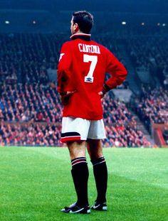 Eric Cantona - Hate United, Love Cantona. Maverick, Genius & Madman in equal measure.