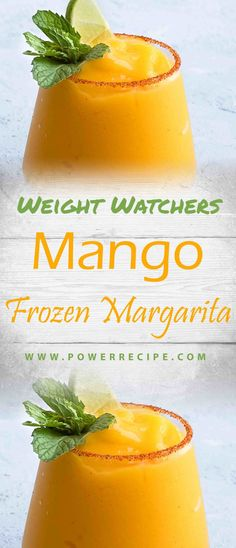 Directions Put the mango, tequila, lime juice, orange liqueur, sugar and water in a blender and blend until smooth.Per Serving:Smartpoints Fat 0 gSat Fat 0 gProtein 21 gFiber 0 mgSodium Mango Recipes, Ww Recipes, Light Recipes, Skinny Recipes, Brunch Recipes, Dessert Recipes, Lime Margarita Recipe, Frozen Strawberry Margarita, Frozen Margarita Recipes