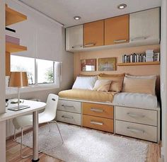 Very Small Bedrooms