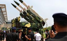 Army gets Akash missile The Army on Tuesday inducted the first regiment of the indigenously-developed Akash surface-to-air missile system, capable of targeting a multitude of aerial threats up to a range of 25 km.