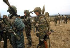 MVD Spetsnaz during first chechen war.