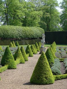 Clipped topiary and lavender garden in Ham house Home Garden Design, Modern Garden Design, Garden Art, Landscape Design, Garden Hedges, Topiary Garden, Garden Landscaping, Formal Gardens, Outdoor Gardens