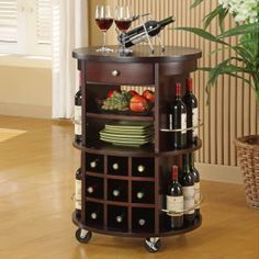 The perfect piece to make entertaining easier. No more running back and forth to the kitchen for more plates, dessert or wine!