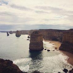 #12apostles #greatoceanroad #roadtrip #australia #coastline #coast #ocean #beach #beachlife #nature by sophthomas http://ift.tt/1ijk11S