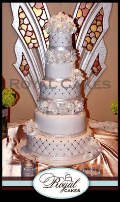 Tufted Elegance Wedding Cake From  Royal Cakes.  www.royalcakesla.com  818-519-4262  Glendale, California    Please mention that you found them thru Jevel Wedding Planning's Pinterest Account.    Keywords: #weddingcakes #royalcakesweddingcakes #jevelweddingplanning Follow Us: www.jevelweddingplanning.com  www.facebook.com/jevelweddingplanning/