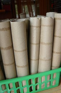What Would You Do With It? Wednesday #4, Cardboard Tubes (Toilet Paper, Paper Towel, etc) | Child Central Station