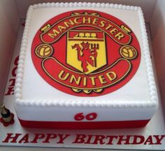 14 Best Manchester United Cake Images Manchester United Cake