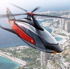 Helicóptero Ferrari