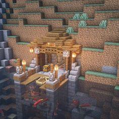 Casa Medieval Minecraft, Minecraft House Plans, Minecraft Houses Survival, Minecraft Cottage, Easy Minecraft Houses, Minecraft House Tutorials, Minecraft Room, Minecraft House Designs, Minecraft Decorations