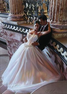 24 Mind Blowing Glamorous Oil Paintings by Famous Artist Rob Hefferan. Read full article: http://webneel.com/webneel/blog/24-mind-blowing-glamorous-oil-paintings-famous-artist-rob-hefferan | more http://webneel.com/paintings | Follow us www.pinterest.com/webneel