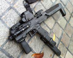 GUN P0RN: Glock to carbine conversion