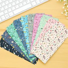 5pcs/lot Cartoon Paper Envelope Kawaii Colorful Story of Willow Envelope for Gift Card Baby Creative Stationery  #Affiliate