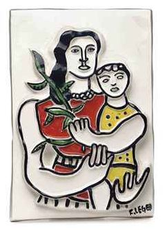 Mother and child, Fernand Leger