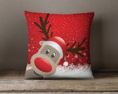 Ideas Sewing Crafts To Sell Christmas Diy Throw Pillows, How To Make Pillows, Decorative Pillows, Couch Pillows, Crafts To Sell, Christmas Crafts, Christmas Decorations, Christmas Ornaments, Christmas Cushions