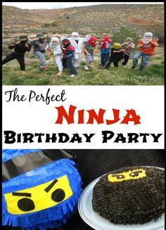 The Perfect Ninja Birthday Party
