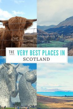 Discover some of the Best Places to Visit in Scotland Pinterest according to 23 travel bloggers. It will inspire you to travel to Scotland!