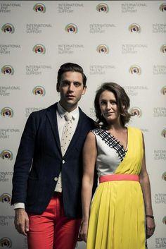Mika and his Sister Yasmine.