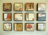 wooden block wall art - Bing Images