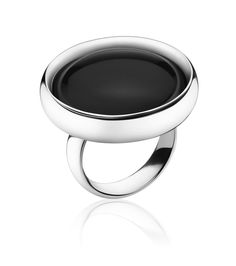 Georg Jensen ring black