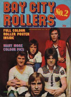 Bay-City-Rollers-Rollertone-News-Poster-Magazine-No-2-1975