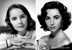 14 Rare Celebrity Childhood Photos Show Barely Recognizable Stars Celebrity Baby Pictures, Celebrity Babies, Young Celebrities, Childhood Photos, Elizabeth Taylor, Movie Stars, Culture, Actresses, Actors