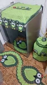 Resultado de imagem para acessorios de croche para fogao