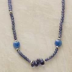 DOLLED UP DENIM NECKLACE: View 1