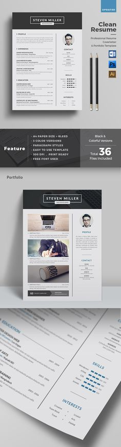 Clean Creative Resume Template