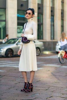 Ciao Milano: all white